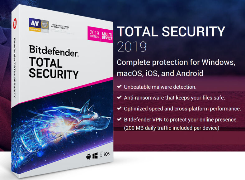 Bitdefender Total Security 2020 Crack + Activation Code Full Version