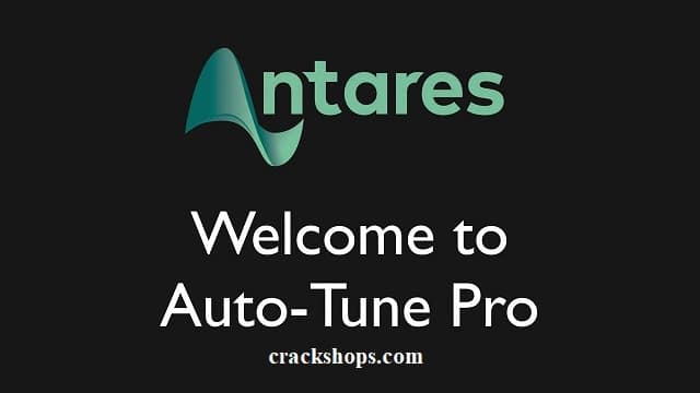 Antares AutoTune 9.0.1 Crack + Serial Key (MAC/WIN) Free Download